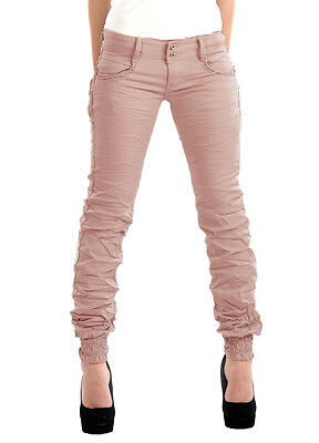 Womens Fitted Slim Fit Skinny Jeans Chino Trousers Ladies Women's Brand New