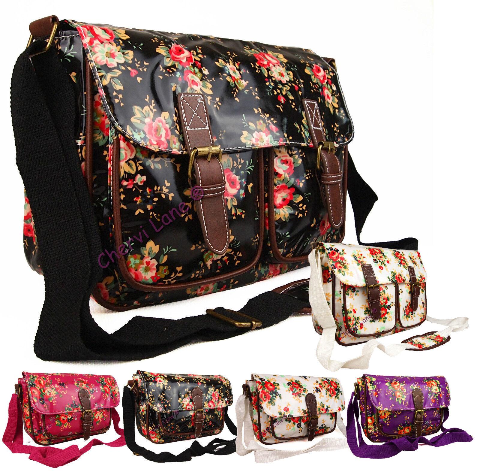 Floral School Shoulder Bag 55