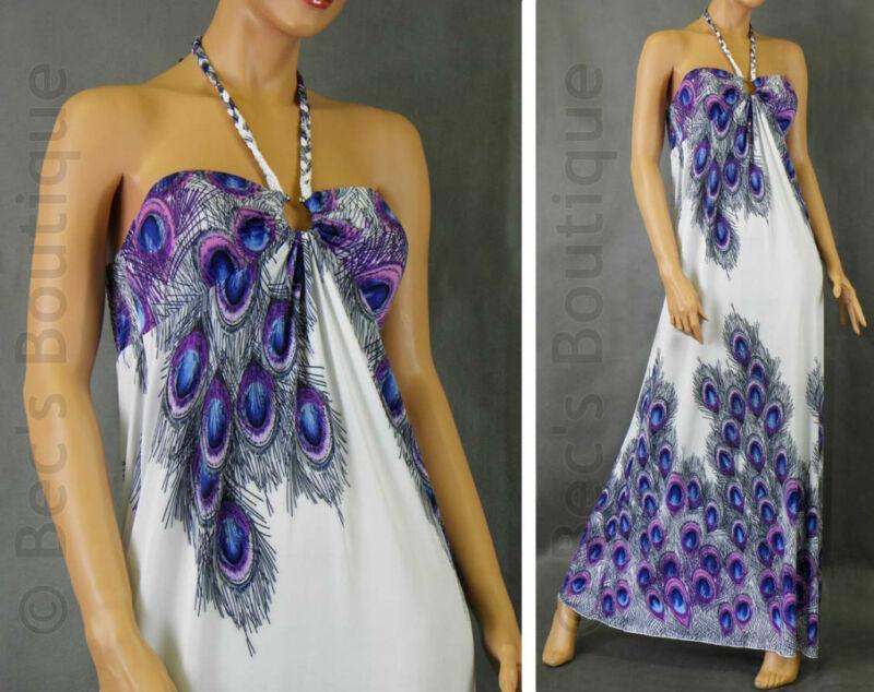 Womens Maxi Dresses Ladies Tropical Long Full Length