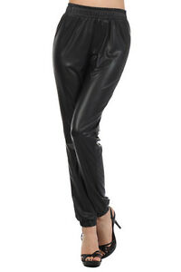 New  Women39s Leather Pants Hot Pantstight Pantssweat Pantsblack Pants