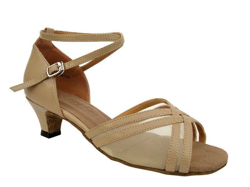 Open Toe Low Heel Dance Shoes