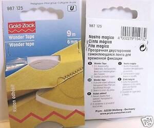 Doppelseitiges Klebeband Für Stoff : wonder tape stoff fixierband doppelseitiges klebeband ebay ~ A.2002-acura-tl-radio.info Haus und Dekorationen