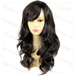 ... Wonderful wavy Long dark Brown Curly Ladies Wigs Hair from WIWIGS UK