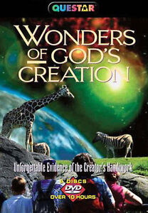 Wonders of God's Creation (DVD, 2005, 6-...