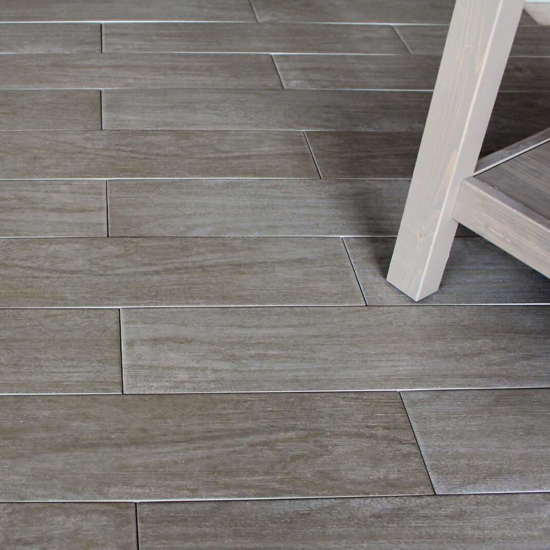 Sample Of 56x14cm Wood Noce Wood Effect Porcelain Floor Tile EBay