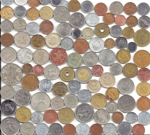 World Coin lot of 100+ mixed coins w/ silver (2) in Coins & Paper Money, Coins: World, Collections, Lots | eBay