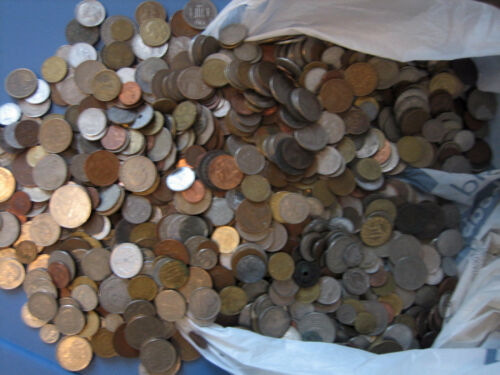 World Coins #1- 1 Lb lot of great world coins - excellent mix in Coins & Paper Money, Coins: World, Collections, Lots | eBay