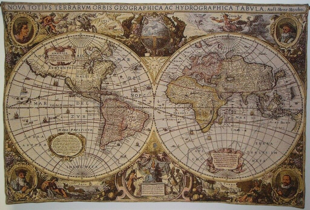 World Map Walll Tapestry Home Decor Wall Art Home Decor