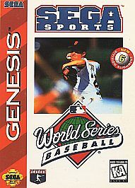 World Series Baseball  (Sega Genesis, 19...