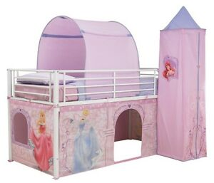 worlds apart 490dsp01e disney princess hochbett vorhang set deko m dchenzimmer ebay. Black Bedroom Furniture Sets. Home Design Ideas