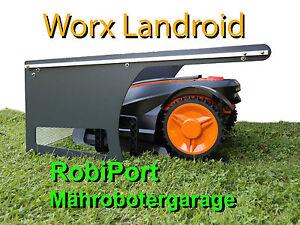 worx landroid robiport s m hroboter garage rasenroboter mower dach ebay. Black Bedroom Furniture Sets. Home Design Ideas