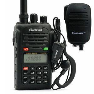 Wouxun-KG-UV2D-Mikrofon-4M-2M-66-88-136-174-BOS-Hand-Funkgeraet-Amateurfunk