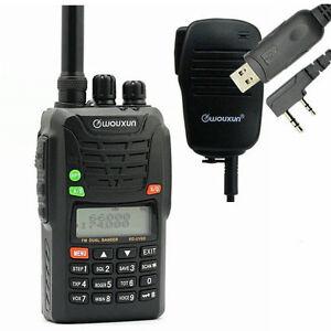 Wouxun-KG-UV6D-4M-2M-Orig-Mikro-Kabel-CD-66-88-136-174-MHz-BOS-Hand-Funkgeraet