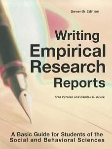 Writing Research Reports 29