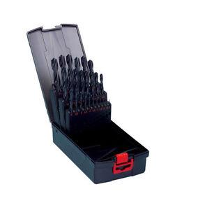 w rth spiralbohrer hss metallbohrer set 25 ltg incl box. Black Bedroom Furniture Sets. Home Design Ideas