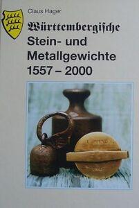 Württembergische Stein- und Metallgewichte 1557-2000 von Claus Hager (Gebunden) - <span itemprop='availableAtOrFrom'>Korb, Deutschland</span> - Württembergische Stein- und Metallgewichte 1557-2000 von Claus Hager (Gebunden) - Korb, Deutschland