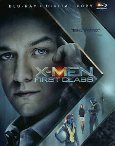 X-Men: First Class (Blu-ray Disc, 2011, ...