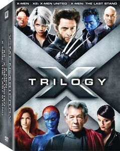 X-Men Trilogy Pack (DVD, 2009, 3-Disc Se...