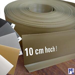 xxl weich pvc sockelleiste knick profil kunststoff sockelleisten 10 cm hoch ebay. Black Bedroom Furniture Sets. Home Design Ideas