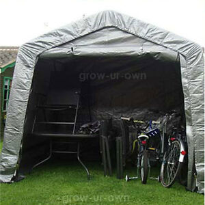 Xlarge waterproof motor bike folding cover storage shed outdoor tent garage barn ebay - Motorcycle foldable garage tent cover ...