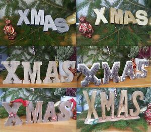 Xmas schriftzug buchstaben holz design weihnachten for Weihnachtsdeko buchstaben