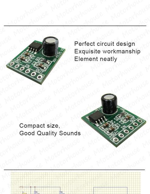 XPT8871 DC 3V-5V 5W Single Mono Channel Digital Audio Mini Amplifier AMP Module