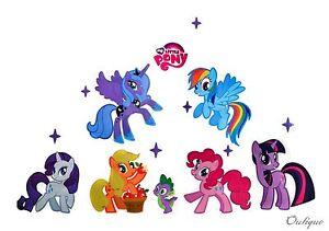 XXL Aufkleber My Little Pony SALE Wandtattoo Kinderzimmer Sticker Geschenk  eBay