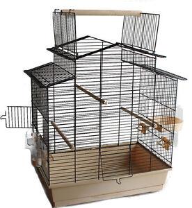 xxl cabrio vogel k fig bauer wellensittich kanarien gro sittich vogelhaus neu ebay. Black Bedroom Furniture Sets. Home Design Ideas