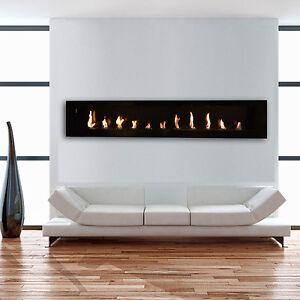 xxl gelkamin ethanolkamin schwarz gel kamin wandkamin. Black Bedroom Furniture Sets. Home Design Ideas