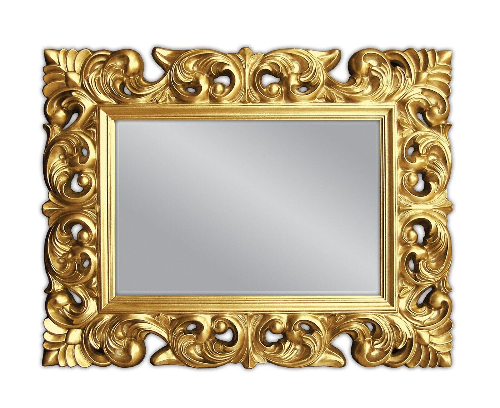 Xxl espejo de pared antiguo rococ 120x90 barroco en for Espejo barroco