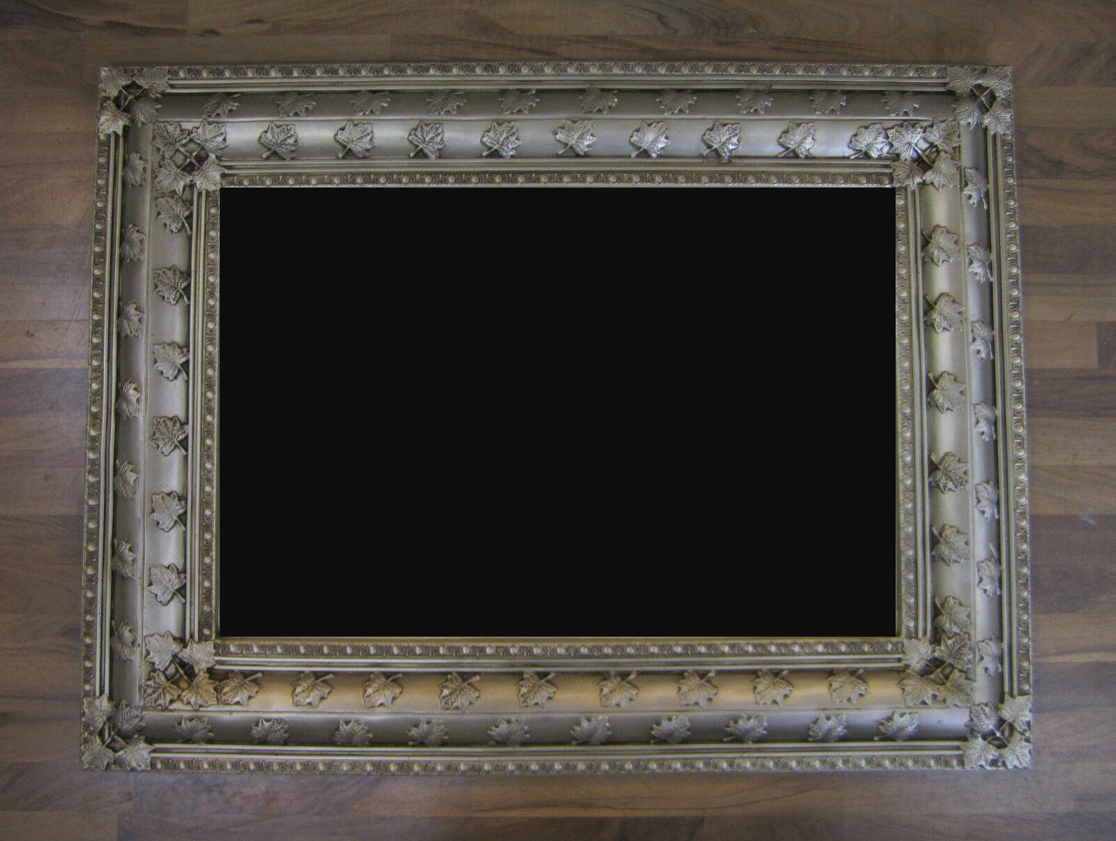 xxl wandspiegel luxuri s prunkvoll rechteckig barock und rokoko antik 122x92 cm ebay. Black Bedroom Furniture Sets. Home Design Ideas