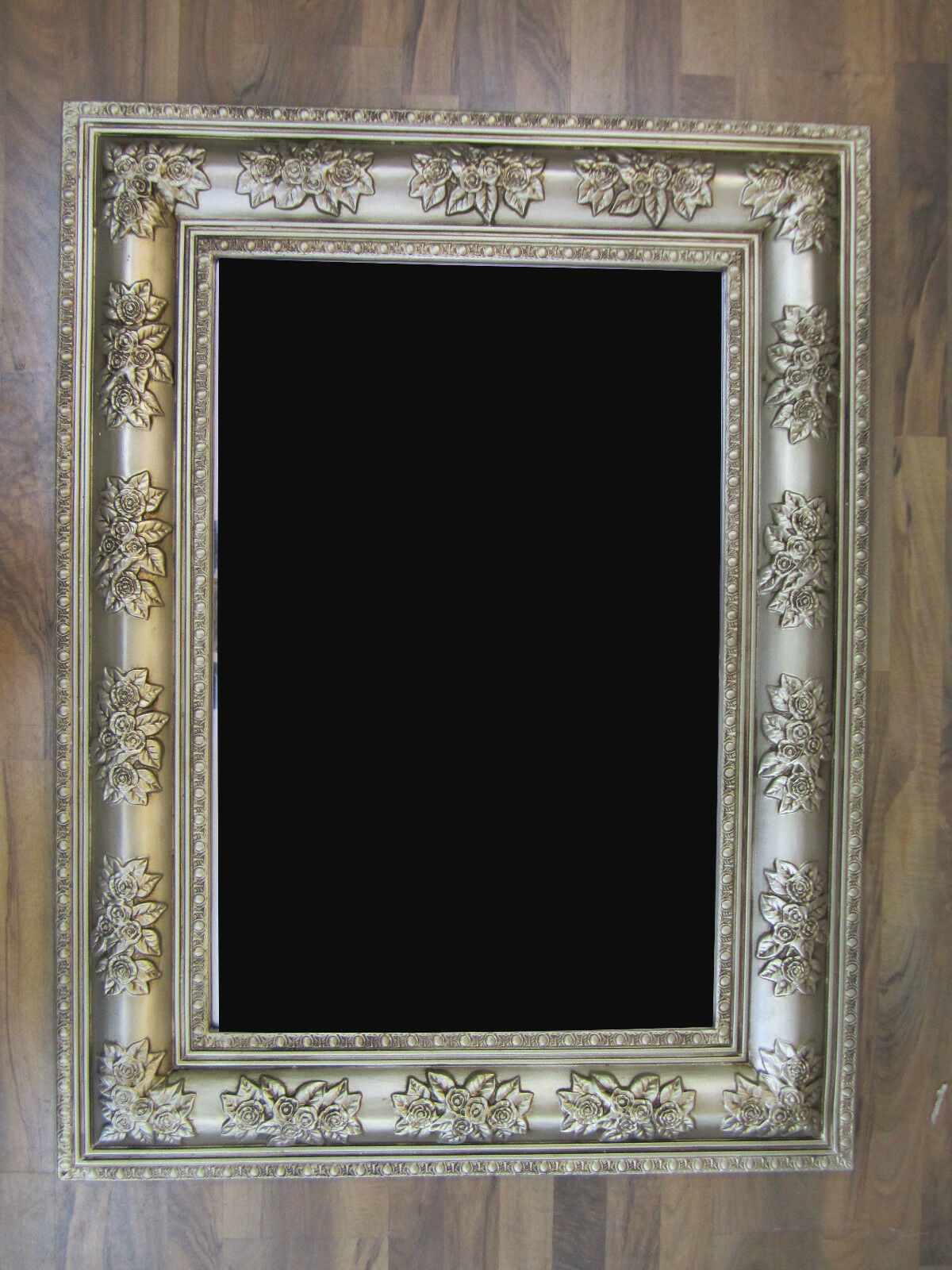 xxl bilderrahmen luxuri s prunkvoll rechteckig barock und rokoko antik 122x92 ebay. Black Bedroom Furniture Sets. Home Design Ideas