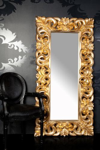 xxl wandspiegel spiegel repro barock antik rechteckig gold. Black Bedroom Furniture Sets. Home Design Ideas