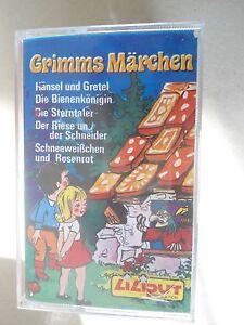 XXXX-Grimms-Maerchen-Haensel-und-Gretel-Bienenkoenigin-Sterntaler-Liliput