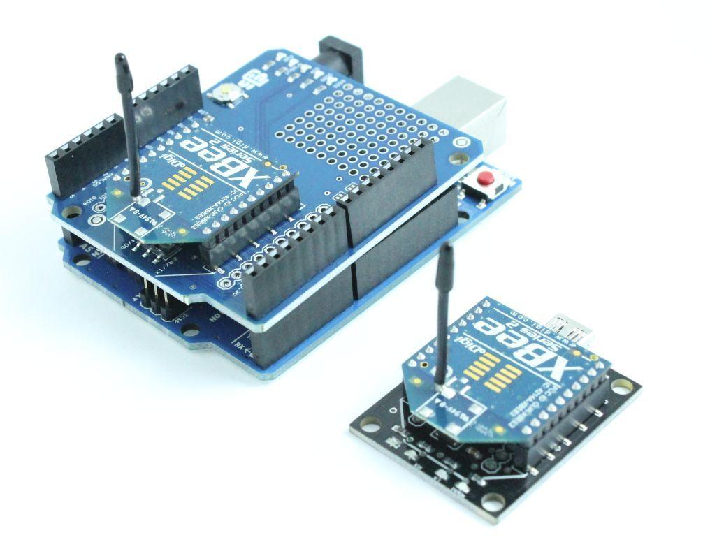 Xbee series wireless kit for arduino uno r or mega