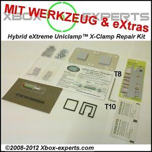 Xbox-360-eXtreme-Hybrid-Reparatur-Kit-Werkzeug-Extras