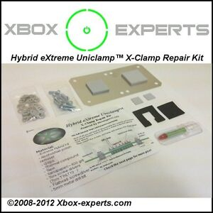 Xbox-360-eXtreme-Hybrid-Uniclamp-RROD-X-Clamp-Reparatur-Kit