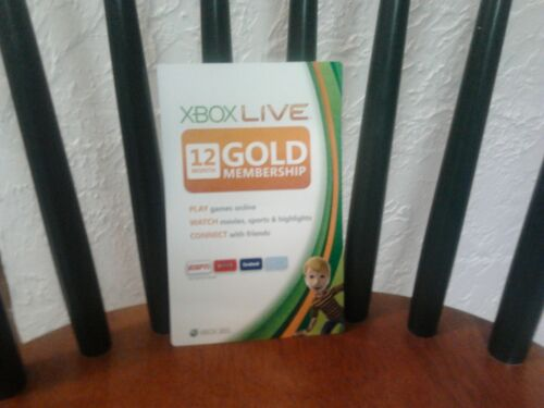 Xbox live 12 month Gold membership in Video Games & Consoles, Prepaid Gaming Cards | eBay