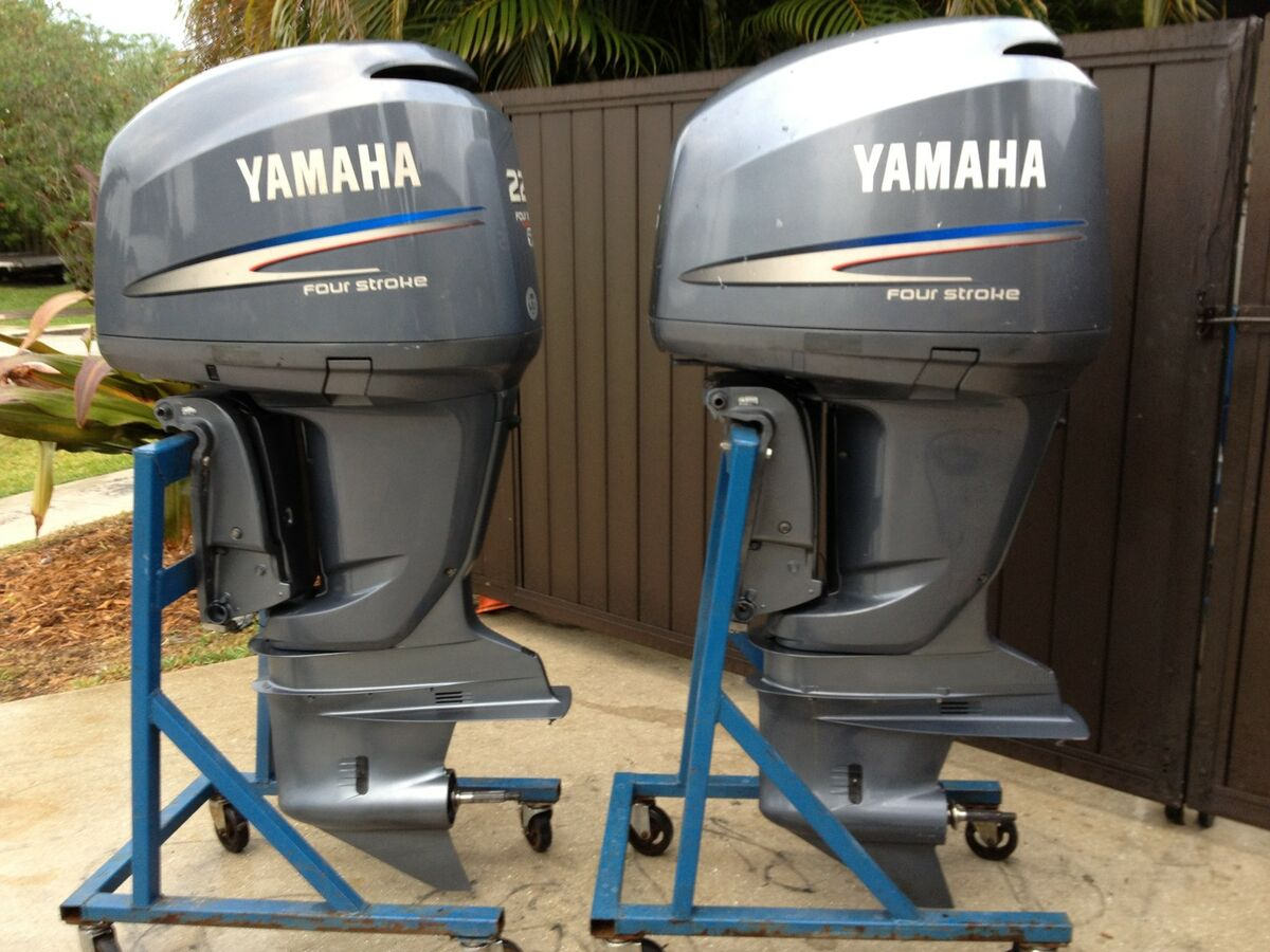 Yamaha f225 225hp 225 hp efi four stroke twin pair for 225 yamaha 4 stroke