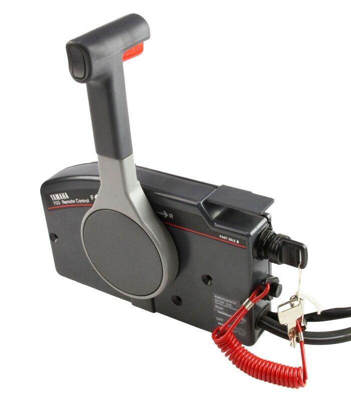 Yamaha Side Mount Control Box 703 Engine Outboard Motor Remote Power Trim