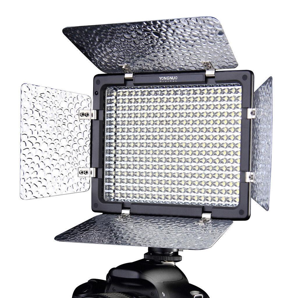 Yongnuo YN300 II YN-300 Ll Pro LED Video Light Camera