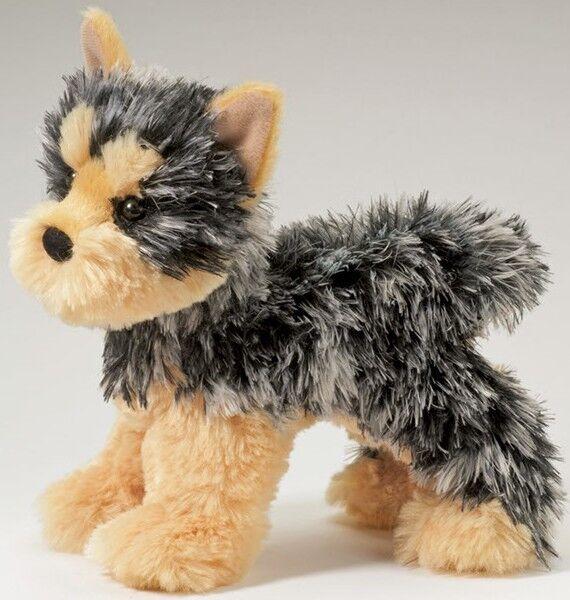 Douglas Cuddle Toy plush 7 long YORKSHIRE TERRIER stuffed DOG Yorkie