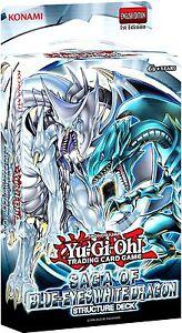 Yugioh Saga of Blue Eyes White Dragon Structure Deck ...