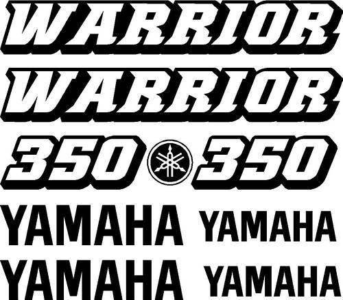 Yamaha Warrior  Decals