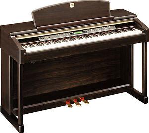 yamaha clavinova clp 150 digital piano full size 88 keys 3 pedals rosewood ebay. Black Bedroom Furniture Sets. Home Design Ideas