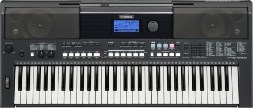 Yamaha PSR-E433 Portable 61-Key Arranger Keyboard in Musical Instruments & Gear, Electronic Instruments, Synthesizers | eBay