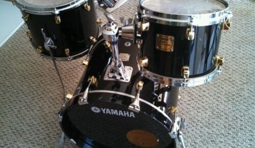 Yamaha maple custom / birch custom 3 piece kit! in Musical Instruments & Gear, Percussion, Drums | eBay