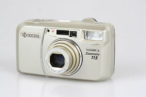 Yashica-Zoomate-115-QD-SAMPLE-nicht-funktionsfaehiges-Probeexemplar