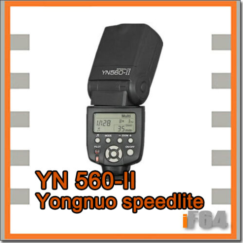 YongNuo YN560II Flash Light for Canon 1100D 1000D 600D 500D 450D 400D 350D 7D in Cameras & Photo, Flashes & Flash Accessories, Flashes | eBay