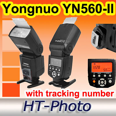 Yongnuo YN560-II YN560 II YN560II Flash Speedlite Canon 550D 1000D 500D 450D in Cameras & Photo, Flashes & Flash Accessories, Flashes | eBay